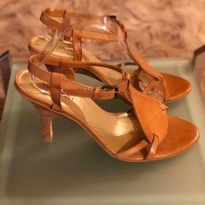 Nine West British Tan Sandal